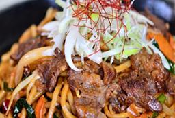 韓流ラージャン焼きそば(太麺)